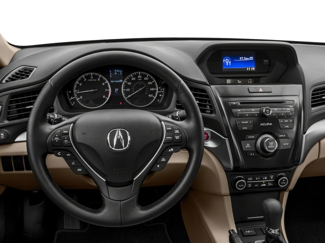 2017 Acura ILX Prices and Values Sedan 4D I4 driver's dashboard