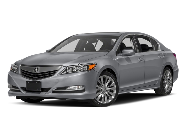 2017 Acura RLX Prices and Values Sedan 4D Technology V6 side front view