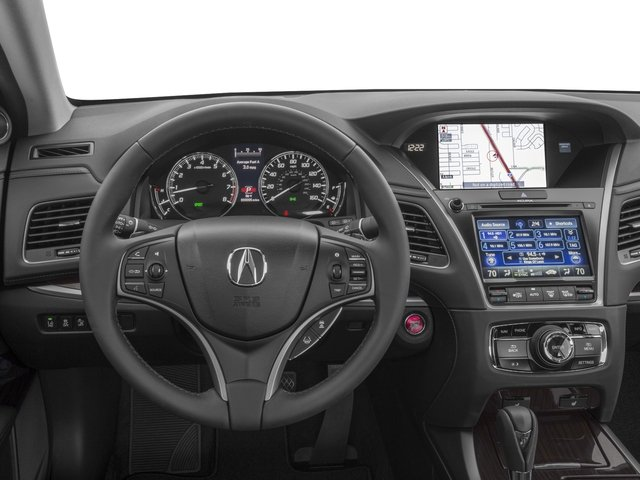 2017 Acura RLX Prices and Values Sedan 4D Technology V6 driver's dashboard