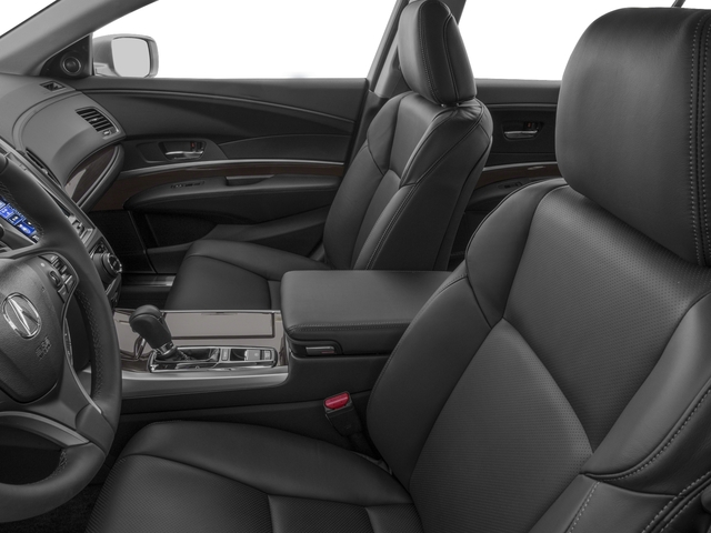 2017 Acura RLX Prices and Values Sedan 4D Technology V6 front seat interior