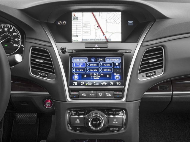 2017 Acura RLX Prices and Values Sedan 4D Technology V6 stereo system