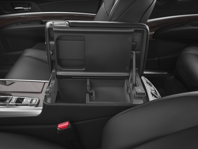2017 Acura RLX Prices and Values Sedan 4D Technology V6 center storage console