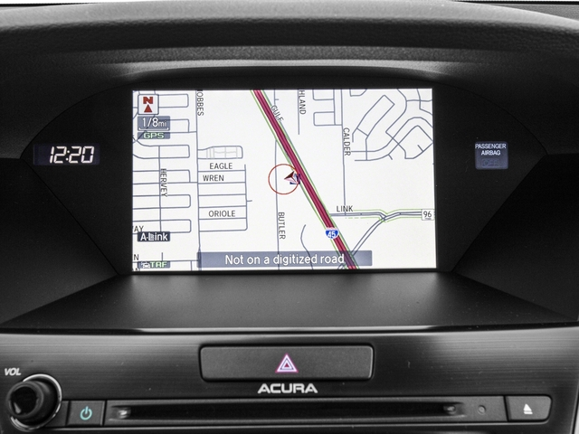 2017 Acura RLX Prices and Values Sedan 4D Technology V6 navigation system