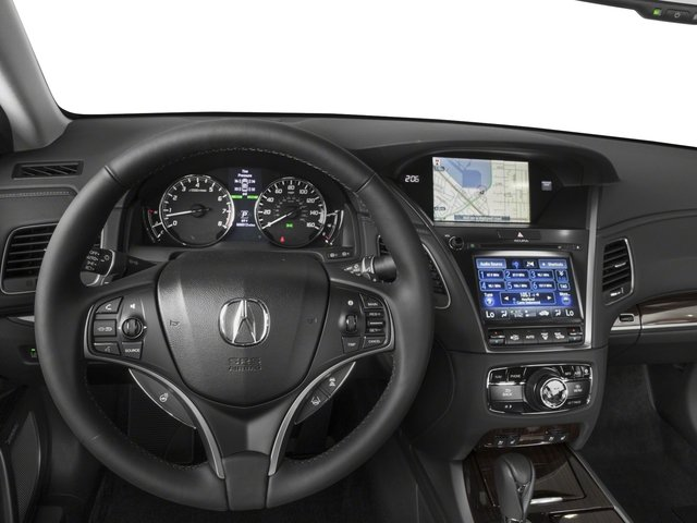 2017 Acura RLX Pictures RLX Sedan w/Advance Pkg photos driver's dashboard