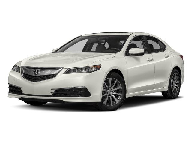 2017 Acura TLX Base Price FWD Pricing side front view