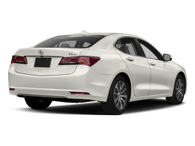 2017 Acura TLX Base Price FWD Pricing side rear view