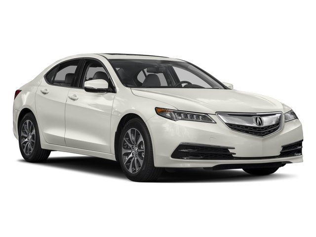 2017 Acura TLX Prices and Values Sedan 4D I4 side front view