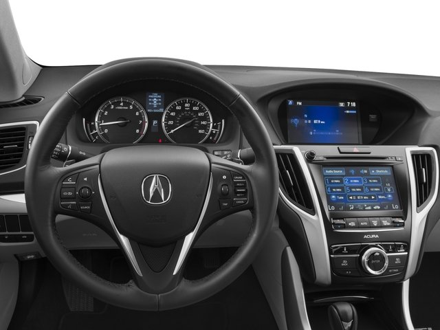 2017 Acura TLX Base Price FWD Pricing driver's dashboard