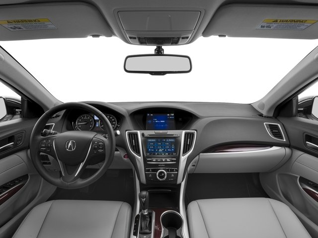 2017 Acura TLX Pictures TLX Sedan 4D I4 photos full dashboard