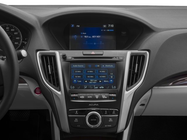 2017 Acura TLX Base Price FWD Pricing stereo system