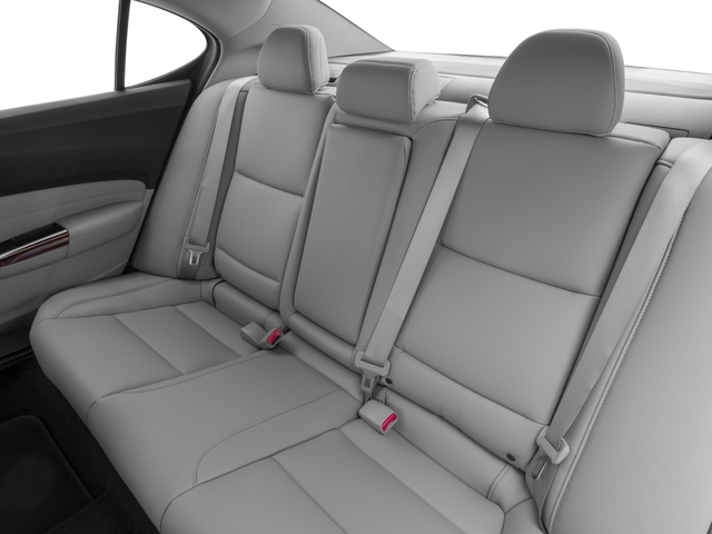 2017 Acura TLX Base Price FWD Pricing backseat interior