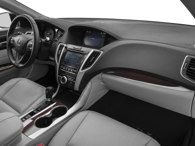 2017 Acura TLX Base Price FWD Pricing passenger's dashboard