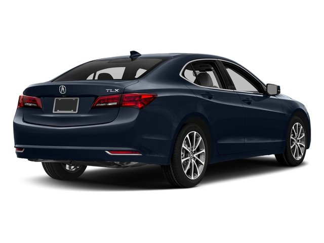 2017 Acura TLX Pictures TLX FWD V6 w/Technology Pkg photos side rear view
