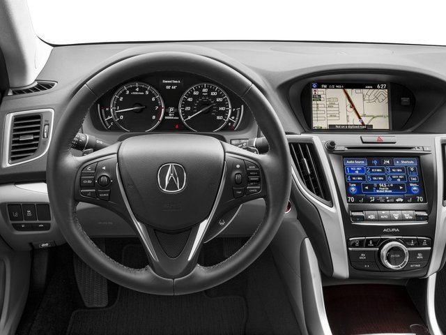 2017 Acura TLX Pictures TLX FWD V6 w/Technology Pkg photos driver's dashboard