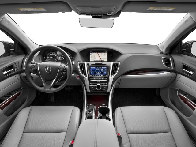 2017 Acura TLX Pictures TLX Sedan 4D Technology V6 photos full dashboard