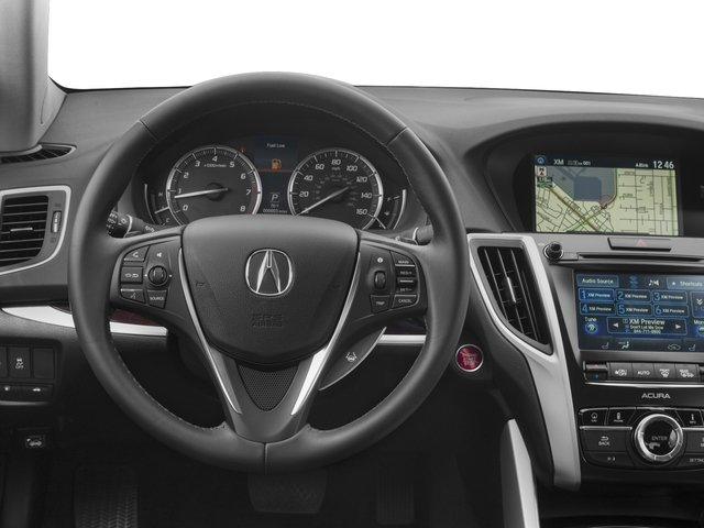 2017 Acura TLX Base Price SH-AWD V6 w/Technology Pkg Pricing driver's dashboard
