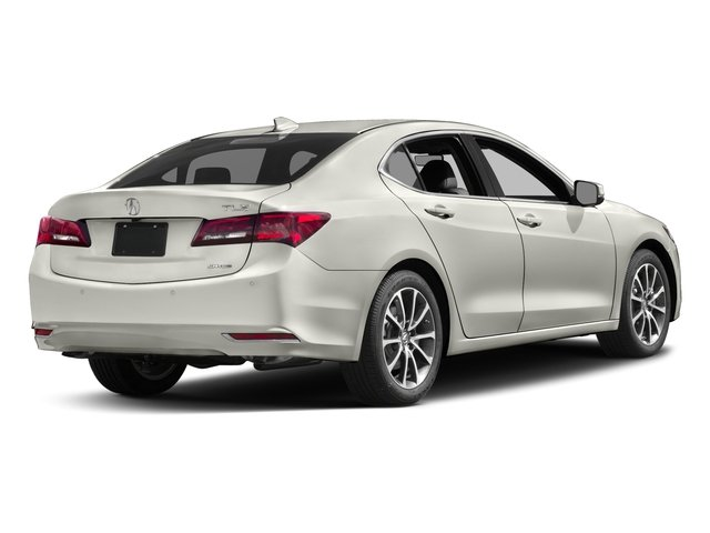 2017 Acura TLX Pictures TLX SH-AWD V6 w/Advance Pkg photos side rear view