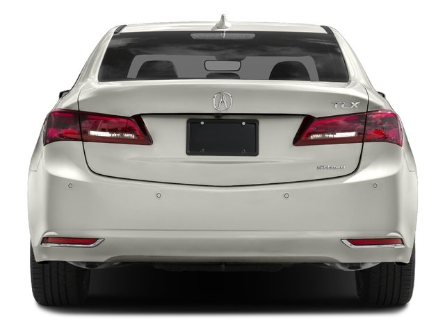 2017 Acura TLX Prices and Values Sedan 4D Advance AWD V6 rear view