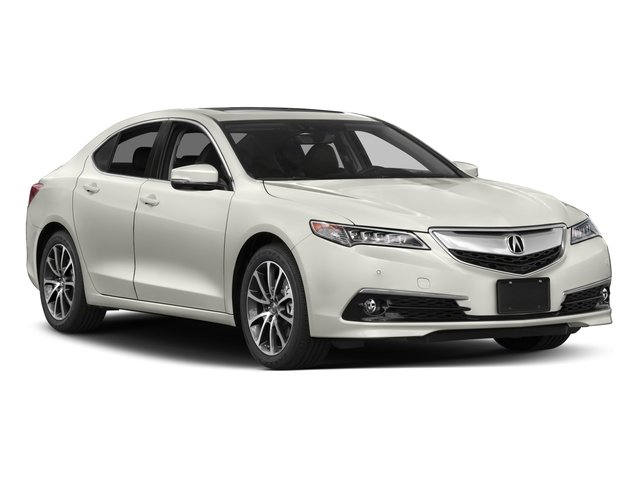 2017 Acura TLX Prices and Values Sedan 4D Advance AWD V6 side front view