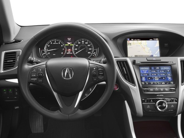 2017 Acura TLX Prices and Values Sedan 4D Advance AWD V6 driver's dashboard