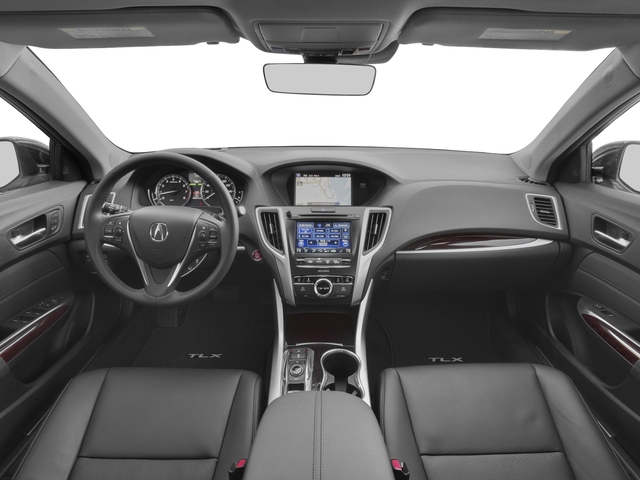 2017 Acura TLX Prices and Values Sedan 4D Advance AWD V6 full dashboard