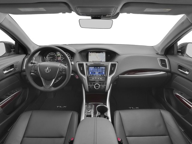 2017 Acura TLX Pictures TLX Sedan 4D Advance AWD V6 photos full dashboard