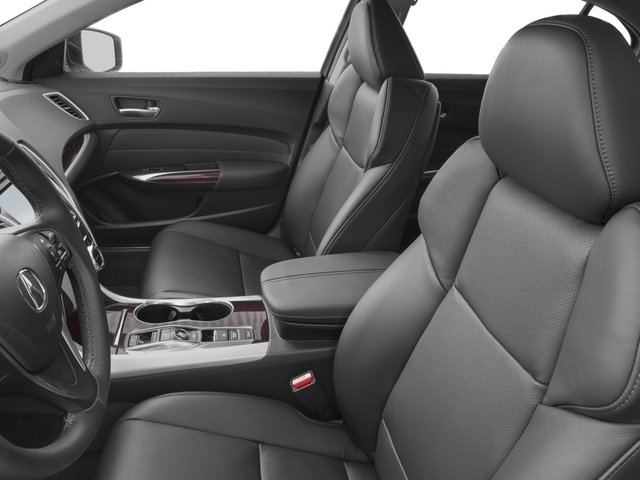 2017 Acura TLX Prices and Values Sedan 4D Advance AWD V6 front seat interior