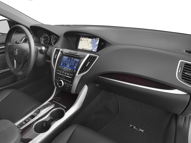 2017 Acura TLX Prices and Values Sedan 4D Advance AWD V6 passenger's dashboard