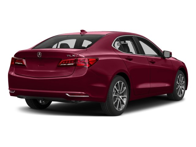 2017 Acura TLX Base Price FWD V6 Pricing side rear view