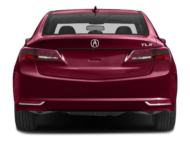 2017 Acura TLX Base Price FWD V6 Pricing rear view