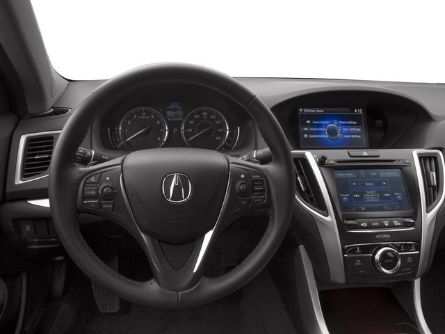2017 Acura TLX Base Price FWD V6 Pricing driver's dashboard