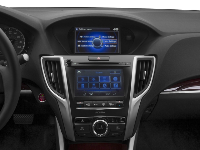 2017 Acura TLX Base Price FWD V6 Pricing stereo system