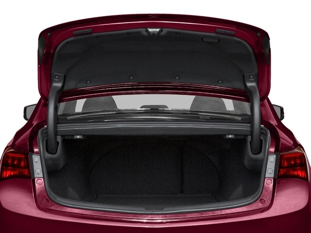 2017 Acura TLX Pictures TLX Sedan 4D V6 photos open trunk