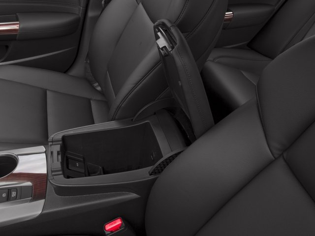 2017 Acura TLX Base Price FWD V6 Pricing center storage console