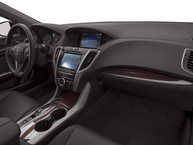 2017 Acura TLX Base Price FWD V6 Pricing passenger's dashboard
