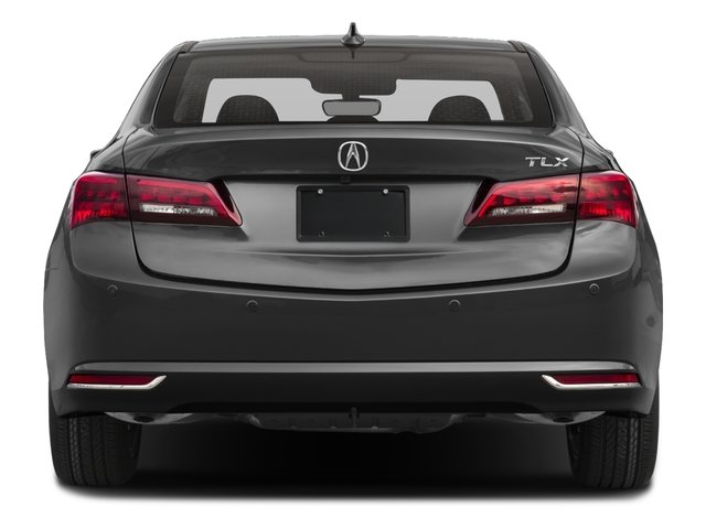 2017 Acura TLX Pictures TLX Sedan 4D Advance V6 photos rear view