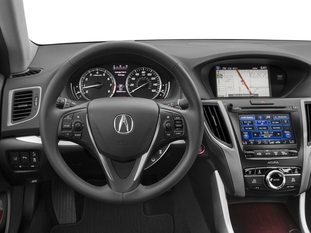 2017 Acura TLX Prices and Values Sedan 4D Advance V6 driver's dashboard