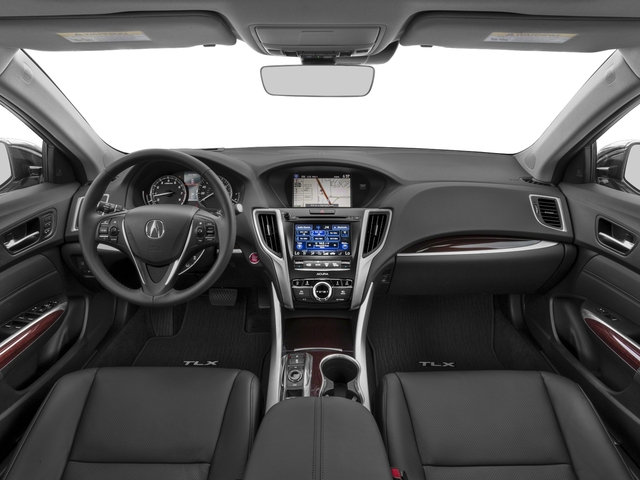 2017 Acura TLX Prices and Values Sedan 4D Advance V6 full dashboard