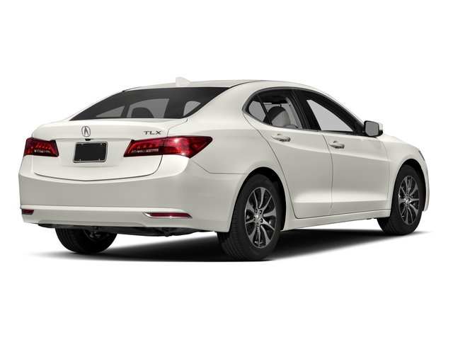 2017 Acura TLX Base Price FWD w/Technology Pkg Pricing side rear view
