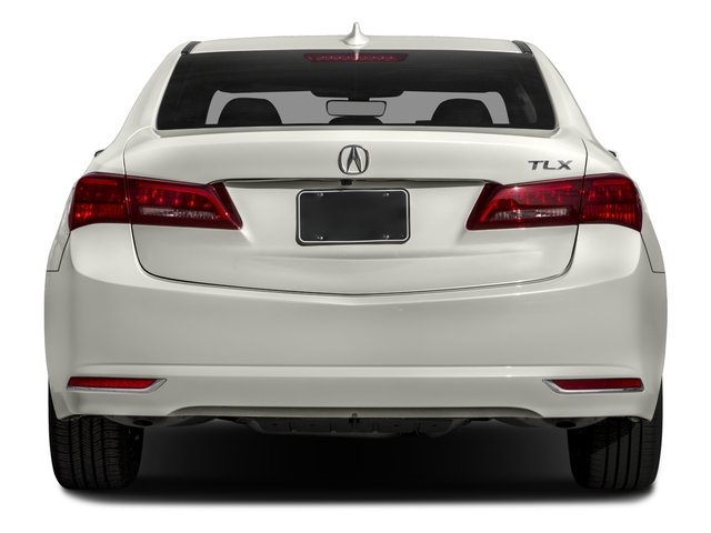 2017 Acura TLX Base Price FWD w/Technology Pkg Pricing rear view