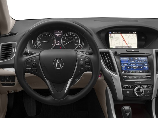 2017 Acura TLX Base Price FWD w/Technology Pkg Pricing driver's dashboard