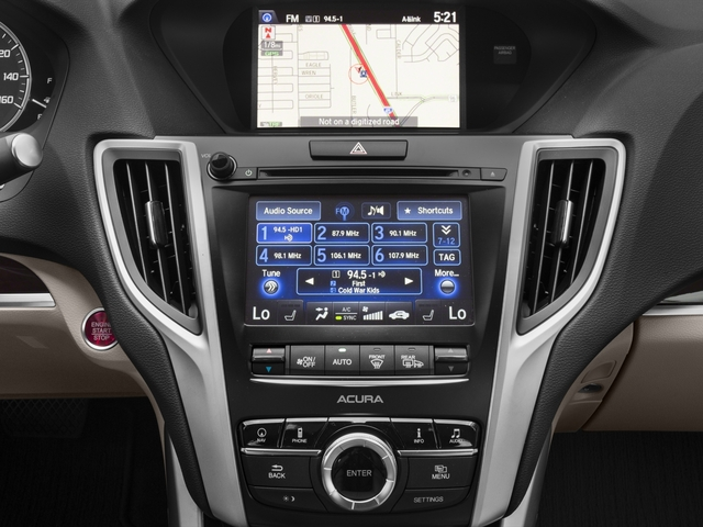 2017 Acura TLX Base Price FWD w/Technology Pkg Pricing stereo system