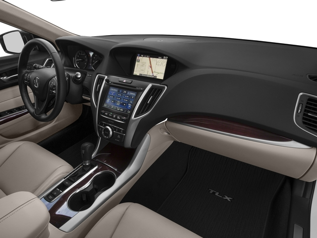 2017 Acura TLX Base Price FWD w/Technology Pkg Pricing passenger's dashboard