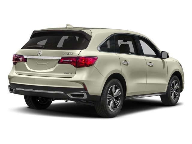 2017 Acura MDX Base Price SH-AWD Pricing side rear view