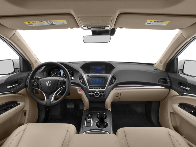 2017 Acura MDX Pictures MDX SH-AWD photos full dashboard