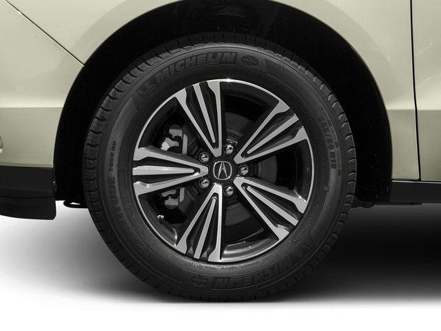 2017 Acura MDX Pictures MDX SH-AWD photos wheel