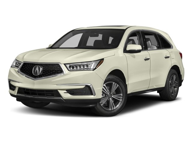 2017 Acura MDX Pictures MDX Utility 4D 2WD V6 photos side front view