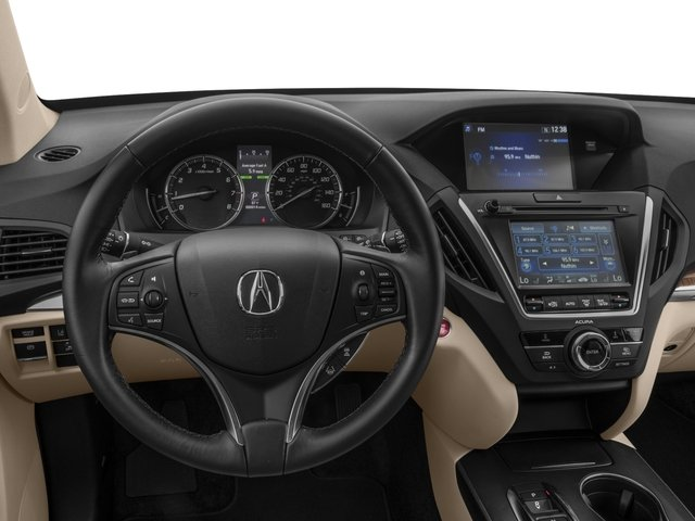 2017 Acura MDX Base Price FWD Pricing driver's dashboard