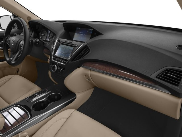 2017 Acura MDX Base Price FWD Pricing passenger's dashboard
