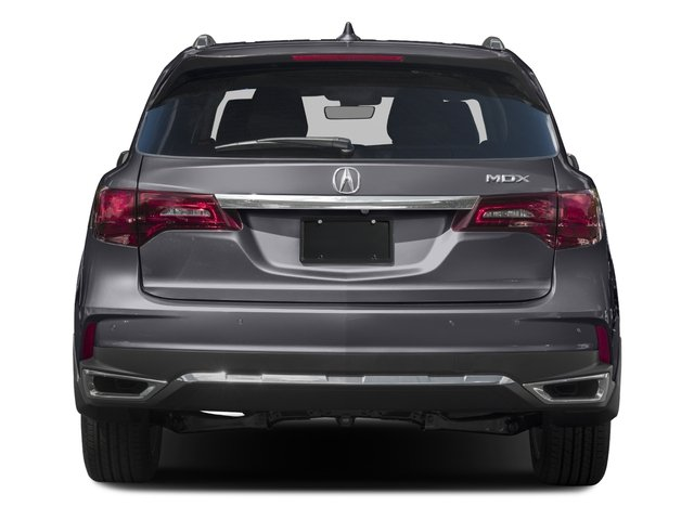 2017 Acura MDX Prices and Values Utility 4D Advance 2WD V6 rear view